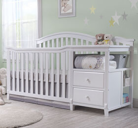 Sorelle Berkley Crib & Changer - Blanc.