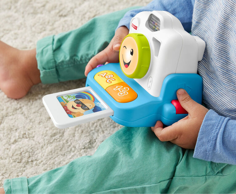 Fisher-Price Laugh & Learn Click & Learn Instant Camera - Bilingual Edition