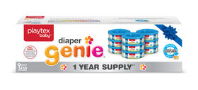 Playtex - Recharge Diaper Genie - provision d'un an (Emballage de 9 recharges).
