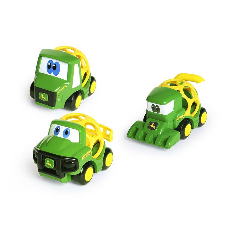 Go Grippers John Deere paquet de 3 véhicules agricoles