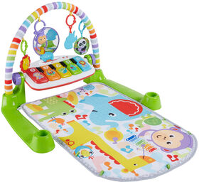 Fisher-Price Deluxe Kick & Play Piano Gym - French Edition