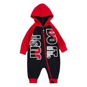 Combinaison Et Bas Nike -Noir/Rouge, Taille 12 Mois