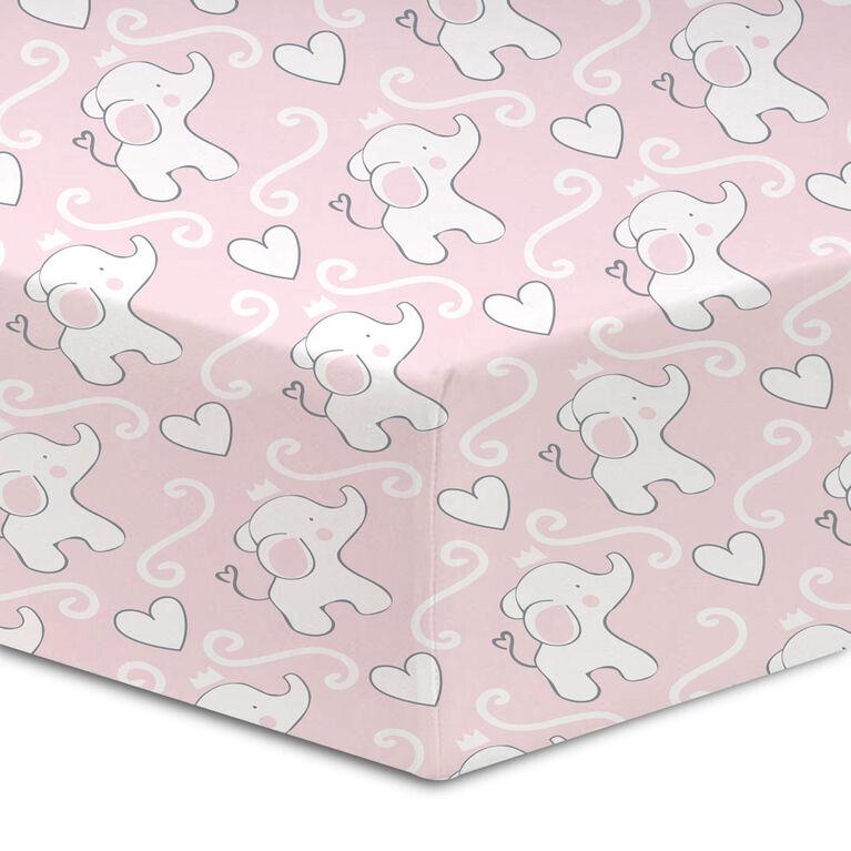 Koala Baby - Percale 1 Pk Love & Elephants