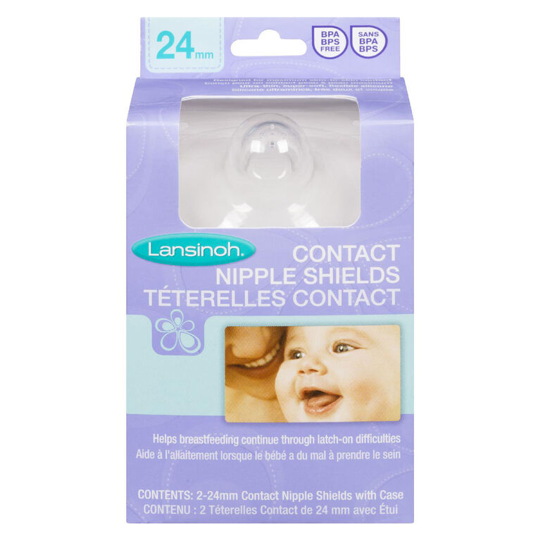 Lansinoh Contact Nipple Shields 24 mm