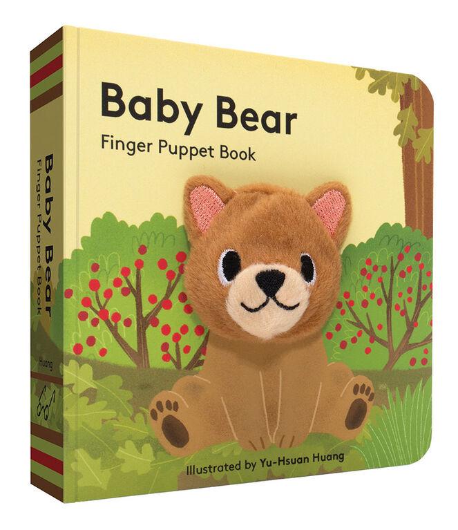 Baby Bear: Livre de marionnettes à doigt