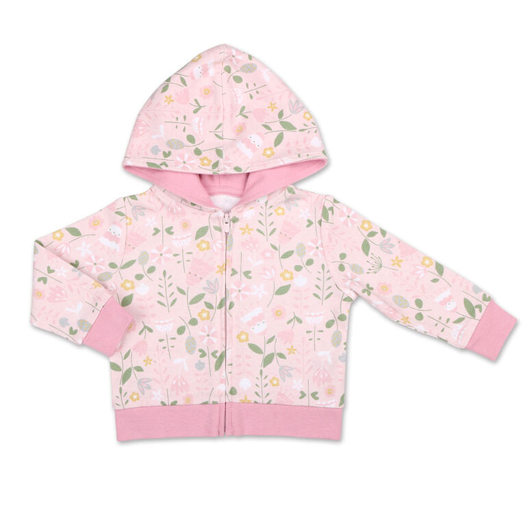 Koala Baby Little Fawn Floral Hoodie/ Legging 2 Piece Set, 24 Month
