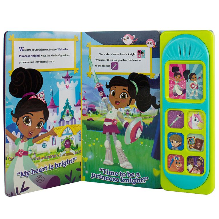 Nickelodeon Princess Nella Little Sound Book: Welcome to Castlehaven