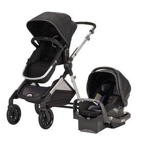 Système modulaire de voyage Pivot Xpand Evenflo avec siège d'auto pour bébé SafeMax Evenflo - Stallion