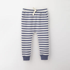 drop-crotch cozy sweats, 9-12m - light blue