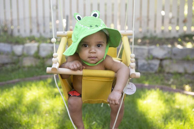 Zoocchini - Swim Diaper & Hat Set - Alligator - Medium