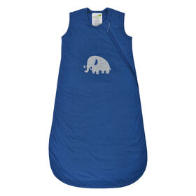 Sleepbag-Cotton-Blue Mammoth (1Tog) - 0-6 Months
