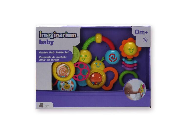 Imaginarium Baby - Ensemble de hochets Amis du jardin