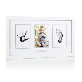 Cadre pour photo Empreinte de bébé - anglaise.