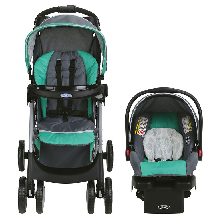 Graco Comfy Cruiser Click Connect Travel System - Briar