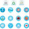 Health Assure 1.0 BeautyRest de luxe en coton biologique de Simmons – Matelas pour lit de bébé et de bambin 2-en-1.