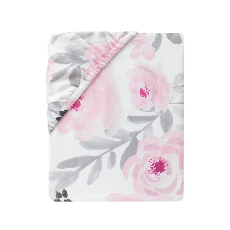 Bedtime Originals Blossom Baby Fitted Crib Sheet