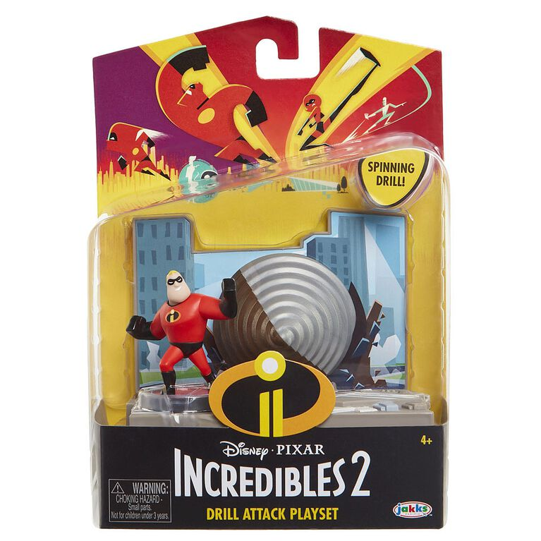 Incredibles 2 Action Pack Mr. Incredible