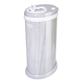 Ubbi Diaper Pail - Gray Wood Grain