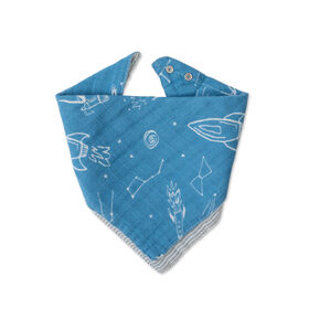 Red Rover - Cotton Muslin Bandana Bib - Star Gaze - R Exclusive