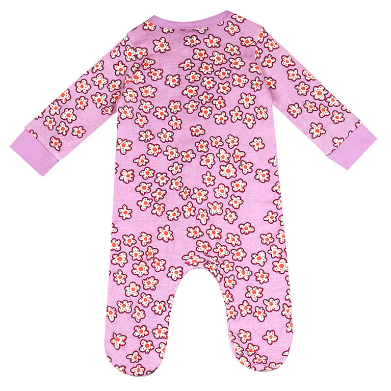 earth by art & eden - Alexa Coverall Multi - Orchid Bouquet Multi, 9 Months