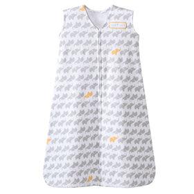 Halo SleepSack - Gray Elephant - Cotton - Medium