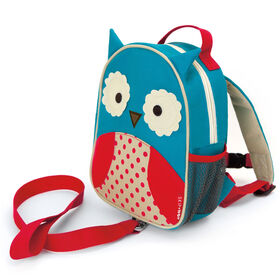 Skip Hop Zoo Safety Harness Backpack, Owl