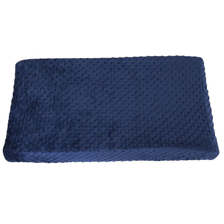 Gerber Changing Pad Cover Navy Popcorn