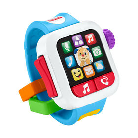 Fisher-Price Laugh & Learn Time to Learn Smartwatch - Bilingual Edition