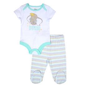 Disney Dumbo Cache couche et pantalon - Gris, 12 mois