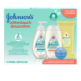 Ensemble Cadeau Johnson's DouxCoton.