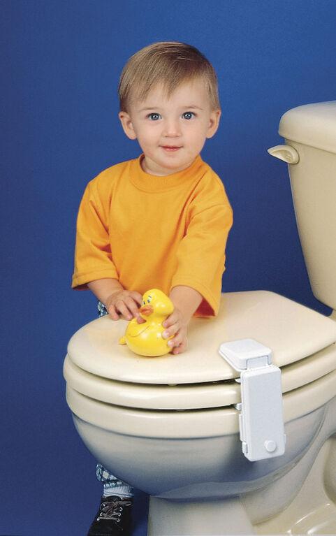 Safety 1st verrou pour couvercle de toilette.