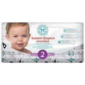 Honest Diapers Size 2 Space Travel
