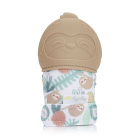 Itzy Ritzy Teething Happens Teething Mitt -Sloth