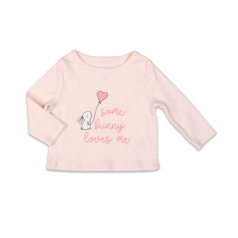 Ensemble chemise et pantalon Koala Baby Dream Girl, Some Bunny Love Me - 3-6 Mois