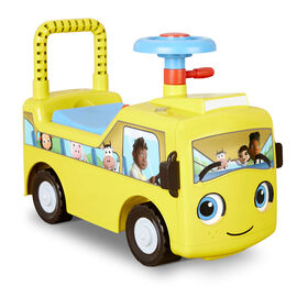 Little Baby Bum Wheels on the Bus Scoot and Push Ride On Official
