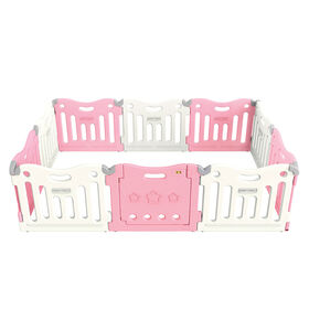 BabyCare Funzone Playpen - Pink