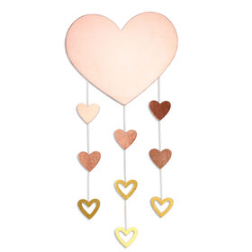 The Peanutshell Heart Wall Hanging||The Peanutshell Heart Wall Hanging
