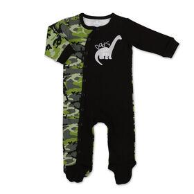 Dormeuse Koala Baby, Dino Camo, Nouveau-né