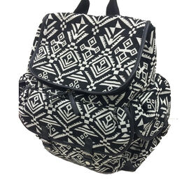 Carter's Baby Aztec Jacquard Backpack Diaper Bag - Black & White