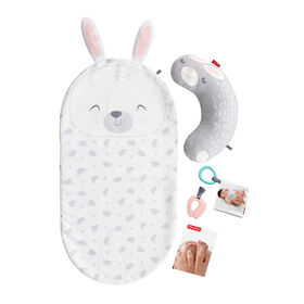 Fisher-Price - Ensemble de massage Bébé Lapin