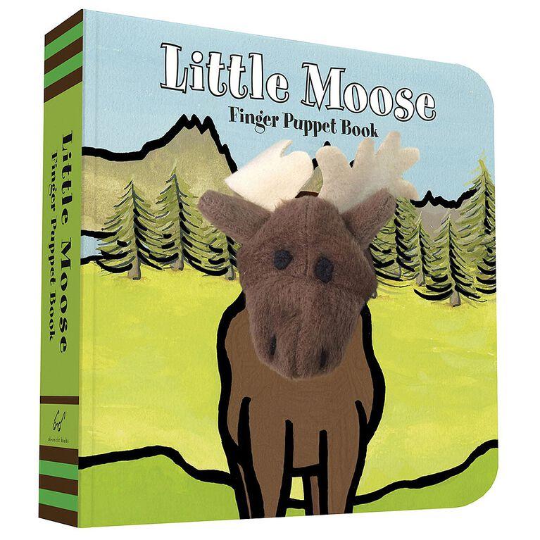 Little Moose: livre de marionnettes à doigt.