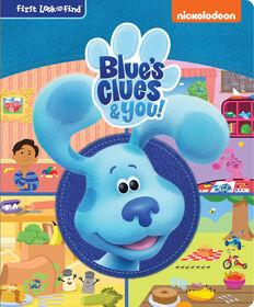 Mon Premier Livre Cherche Et Trouve De Nickelodeon: Blue Et Ses Amis - Édition anglaise