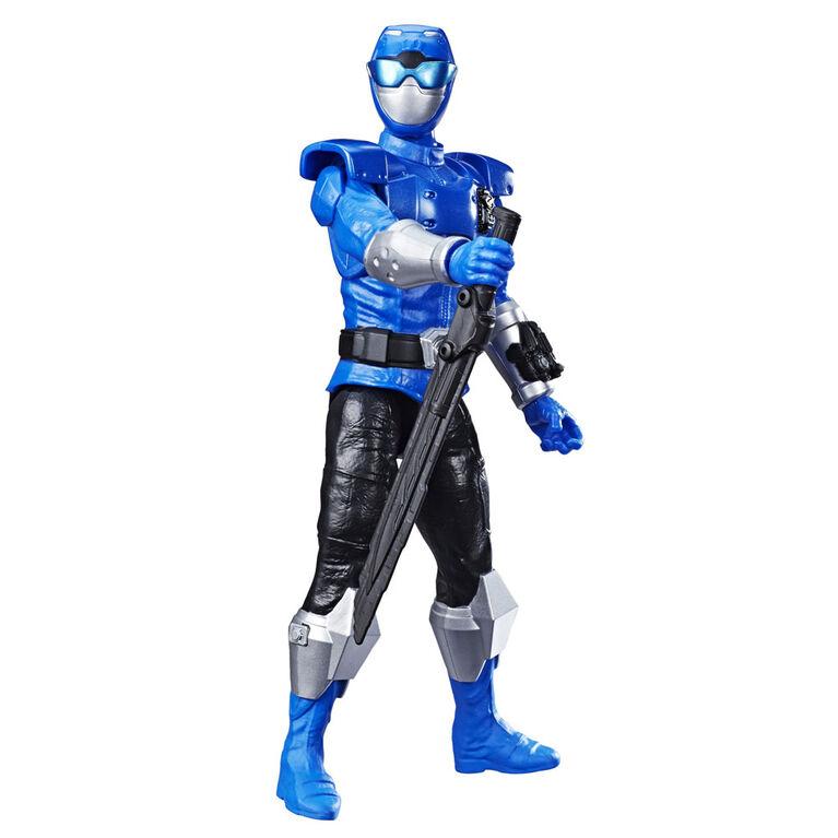 Power Rangers Beast Morphers - Figurine jouet de 30 cm Ranger bleu Beast-X