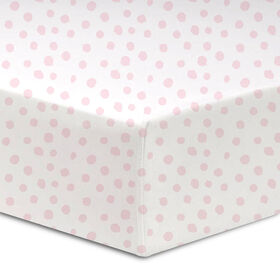Koala Baby 100% Cotton Percale Fitted Crib Sheet