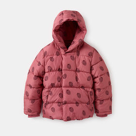 stay warm cropped puffer parka, size 18-24m - Pink
