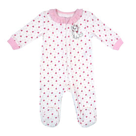 Disney Marie 1-Piece Footed Sleeper - Pink, 9 Months