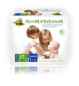 Bio Babby Eco Diapers - JUNIOR (6 x 28 ea)