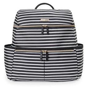 SKIP HOP Flatiron Backpack- B/W Stripe