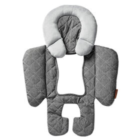 JJ Cole Car Seat Reversible Body Support - Grey