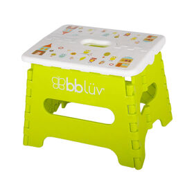 bblüv Stëp Folding Step Stool Lime